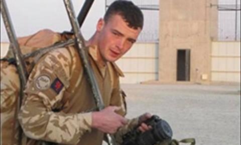 Fusilier Jonathon Burgees